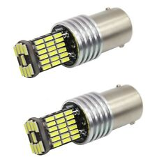 COPPIA LAMPADE LED NO ERROR CANBUS P21W BA15S 45 SMD ULTRALUMINOSO 6000K