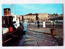TRIESTE Molo audace rimorchiatore Tripcovich lloyd vecchia cartolina