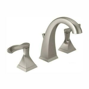"""Delta Every 8"""" Spread Bathroom Faucet 35741-sp-dst Spot Resistant brushed nickel"""
