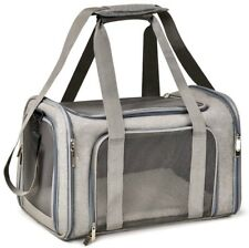 Henkelion Cat Carriers Dog Carrier Pet Carrier For Small / Medium Cats Dogs Up -