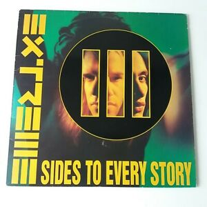 Extreme - III Sides To Every Story - Vinyl 2x LP + Insert UK 1st Press EX/EX+