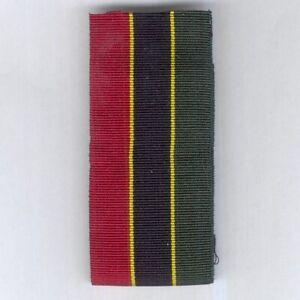 UNCERTAIN RIBBON. Red / yellow / navy blue / yellow / green