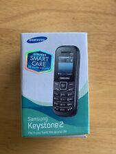 Samsung Keystone 2 GT-E1205Y Black New