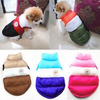 Warm Dog Jacket Coat Pet Winter Clothes For Small Medium Large Boxer Bulldog