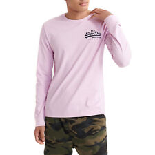 Superdry Vintage Pasteline T-shirt Long Sleeve - Orchid Bouquet All Sizes