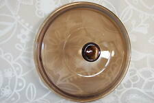 """Pyrex Amber Vision Ware 8"""" replacement pot lid 20 cm"""