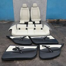 BMW SERIE 1 e87 LCI Lemon interni in pelle sedili con airbag porta carte