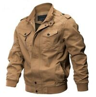 M65 Mens Combat Field Jacket Vintage Type Military Army Coat Quilted Liner Olive