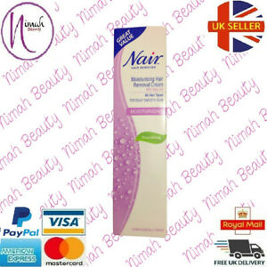 Nair Moisturising Hair Removal Cream With Baby Oil For All Hair Types 80ml