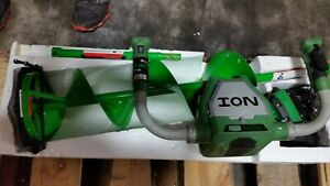 19150 ION 8 INCH ELECTRIC ICE AUGER WITH REVERSE MFG REFURBISHED + WARRANTY