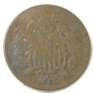 elf Two Cents   1865    Civil War