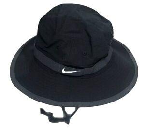 NEW Nike Mens Sportswear Solid Bucket Hat Black Size S/M Small-Medium AH0001-010