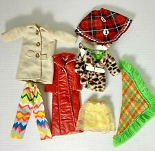 Vintage Mattel Barbie & Francie Clothing Lot of 7 Preowned Items