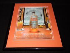 2005 Absolut Winter Mandarin Vodka Framed 11x14 ORIGINAL Vintage Advertisement
