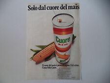 advertising Pubblicità 1973 OLIO CUORE