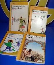 Libro  4 libros ALFAGUARA JUVENILES diferentes autores