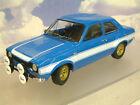 MINICHAMPS 1/18 DIECAST 1970 FORD ESCORT MK1 MKI RS1600 FAV IN BLUE 100688102