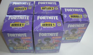 Panini Fortnite Serie 1 Trading Cards - 5 x Blaster Box - NEU & OVP