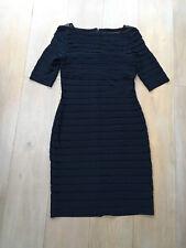 Adrianna Papell navy dress, size 8