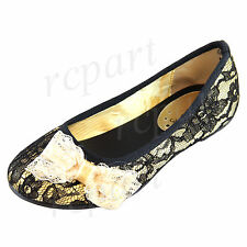 808077c2e120 New girl s kids black gold lace bow flat comfort casual dress fashion