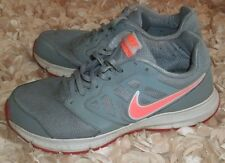 NIKE DOWNSHIFTER WOMENS RUNNING ATHLETIC SHOES DOVE GRAY HOT LAVA ORANGE SIZE 11