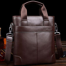 Men's Leather Handbag Tote Bag Fashion Casual Briefcase Shoulder Messenger Bags