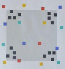 Verena Loewensberg Geometrische Composition 1980 Handsigniert Serigrafie Swiss