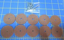 """For Jointed Teddy Bear = 10 – 1 ½"""" Hard Board Discs – with Tap Bolt Set"""