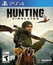 Hunting Simulator (Sony PlayStation 4, 2017) New Factory Sealed