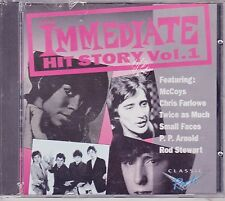 Small Faces, McCoys, Rod Stewart, Chris Farlow- Immediate Hits Story- Volume 1