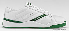 Mens CONVERSE All Star JACK PURCELL White Green LEATHER Trainers Shoes UK SIZE 6