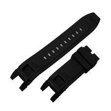 New Rubber Black Watch Band Strap For Invicta S1 Rally 0894