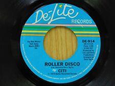 Citi 45 Roller Disco bw Heart Attack - De-Lite M-