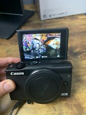 Canon EOS M100 24.2 MP Digital SLR Camera - Black Body Only