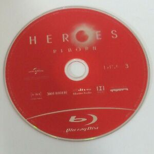 Heroes Reborn - Season 1 - Disc 3 - Blu Ray Disc Only - Replacement Disc