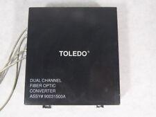 Toledo 90031500A Dual Channel Fiber Optic Converter ! WOW !