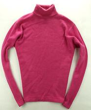 Henri Bendel Pullover Sweater 100% Kaschmir Rosa Pink Gr. M