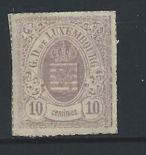 LUXEMBOURG #19 MH  -  1865