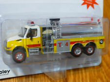 Boley HO #185-412678  Fire Apparatus - 2001 International 3-Axle Tanker w/Pump