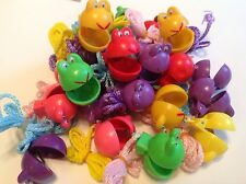 Kids Lot Of 12 Clicker Necklaces Goodie Bag Carnival Prizes Birthday Party Fun