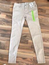 Denim Co Trousers / Jeans  Skinny Woman 12 Ivory New BNWT