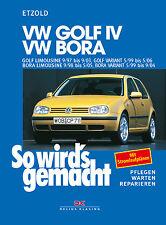 VW GOLF 4 BENZINER SO WIRDS GEMACHT Reparaturbuch Jetzt helfe ich mir selbst
