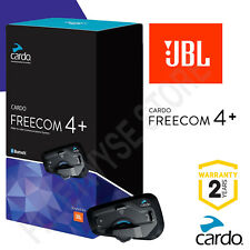 Cardo Scala Freecom 4 + Plus JBL Sound Motorcycle Bluetooth Intercom Headset