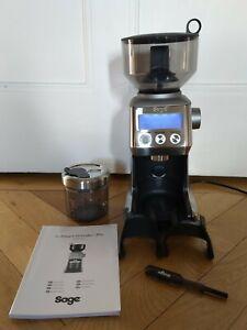 Sage The Smart Grinder Pro Kaffeemühle Espresso Mühle für Gourmets / LCD-Anzeige