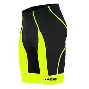 Zimco Men Pro Cycling Shorts Bike Knicks Bicycle Short CoolMax Padded 143