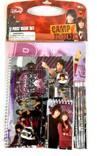 Camp Rock 11 Pcs: Folders, Notebook, Notepad, Pencils, Ruler, Eraser, Sharpener.