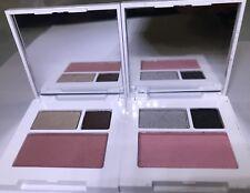 2 Clinique Eyeshadow Duo (Java & Starbright, Smoke) & Powder Blush (Plum, Cupid)