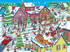 Jigsaw puzzle Seek and Find 101 Things at Christmas Festivities 101 Piece NEW