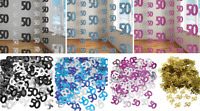 50th Birthday Decorations Hanging String Ceiling Party Room Wall Confetti Banner