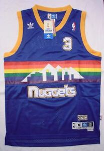 Canotta nba basket maglia Allen Iverson jersey Denver Nuggets S/M/L/XL/XXL/XXXL